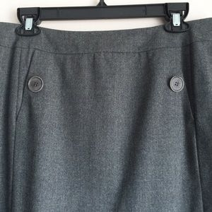 Talbots Skirts - Talbots A-line Wool Skirt Size 14 Gray Career